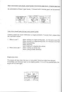 Kubota B1902 service manual