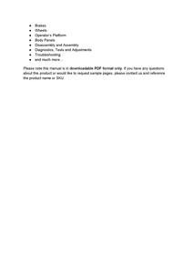 John Deere 1550 manual