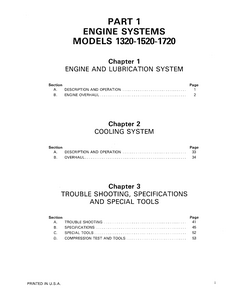 New Holland Ford 1720 Tractors manual