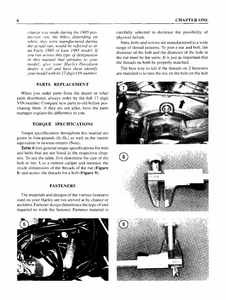 Harley Davidson 1340cc Softail Motorcycle service manual