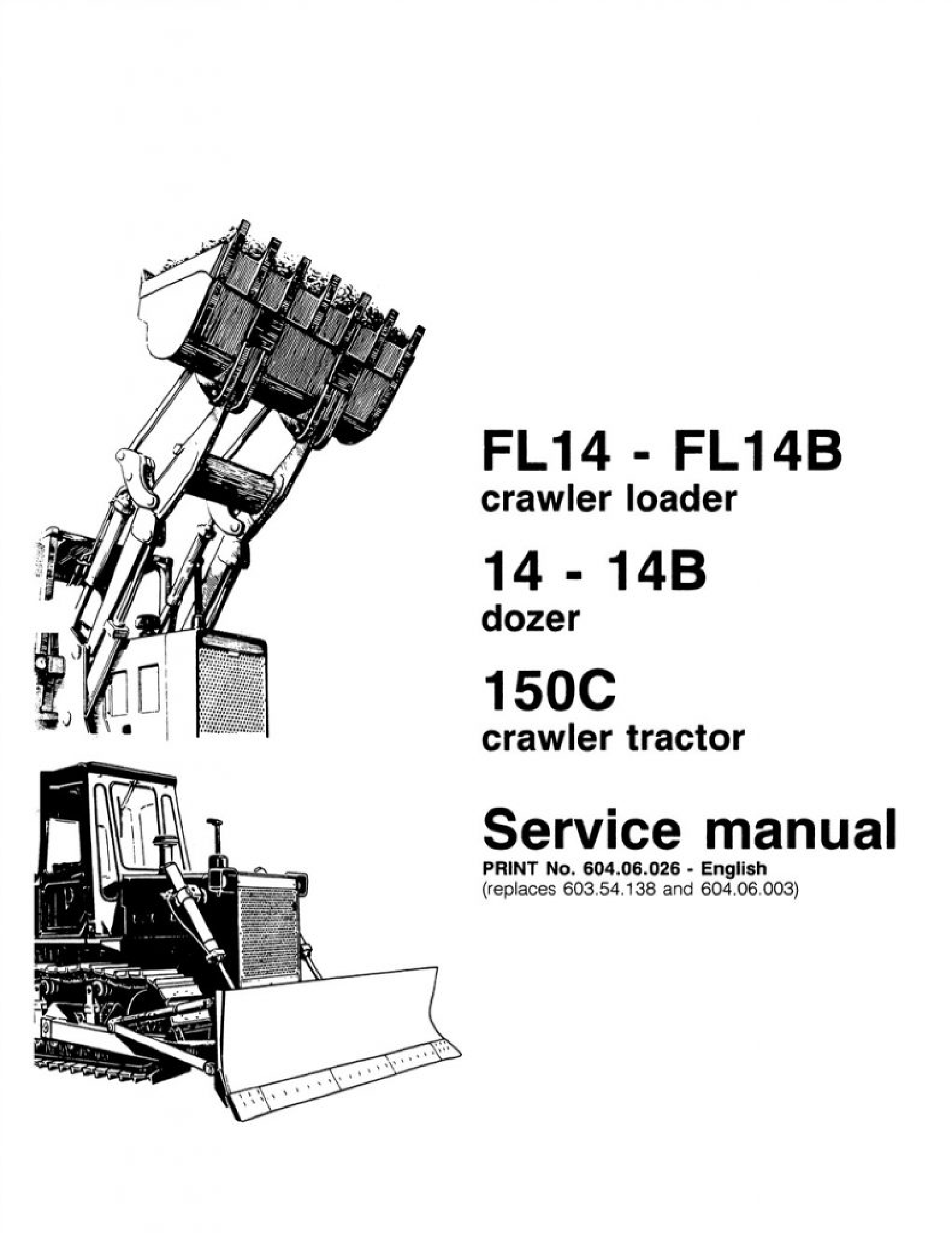 Fiat-Allis 14 FL FL manual