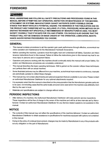 Kobelco SK27SR-3 HYDRAULIC EXCAVATOR Operator's manual