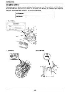 Kobelco SK27SR-3 HYDRAULIC EXCAVATOR Operator's service manual