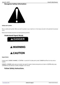 John Deere 6130M service manual