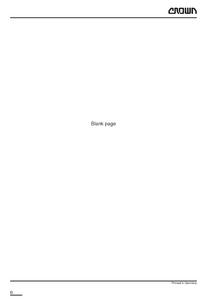 Crown ST3000 manual pdf