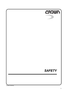 Crown WD2300S manual