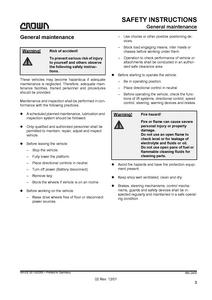 Crown WAVE50 manual