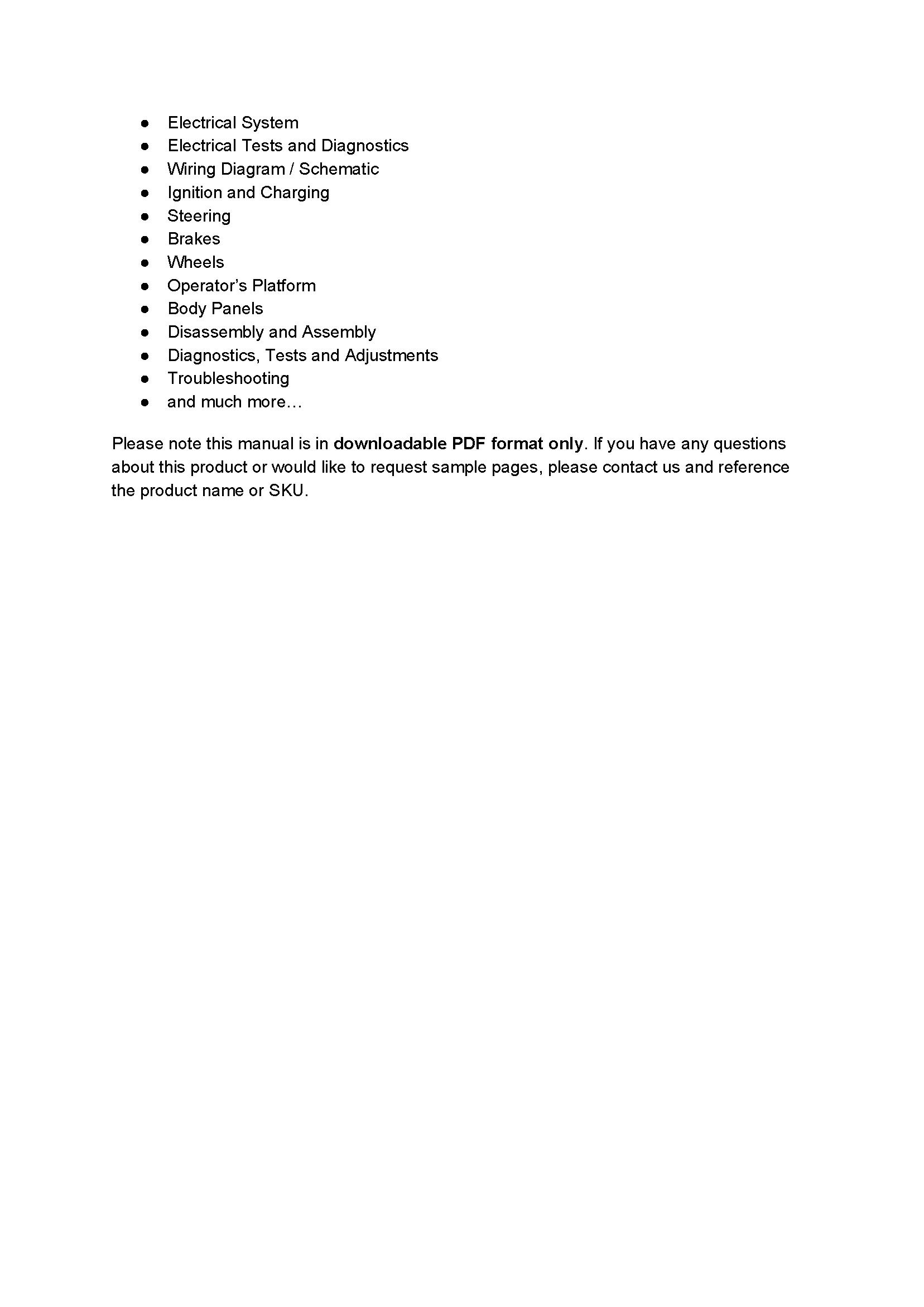 John Deere 320D manual