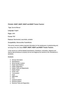 John Deere 9320T manual