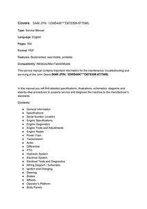John Deere 544K manual