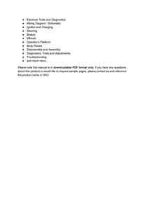John Deere 544K  service manual