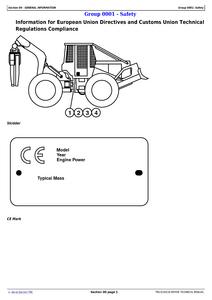 John Deere 748L manual