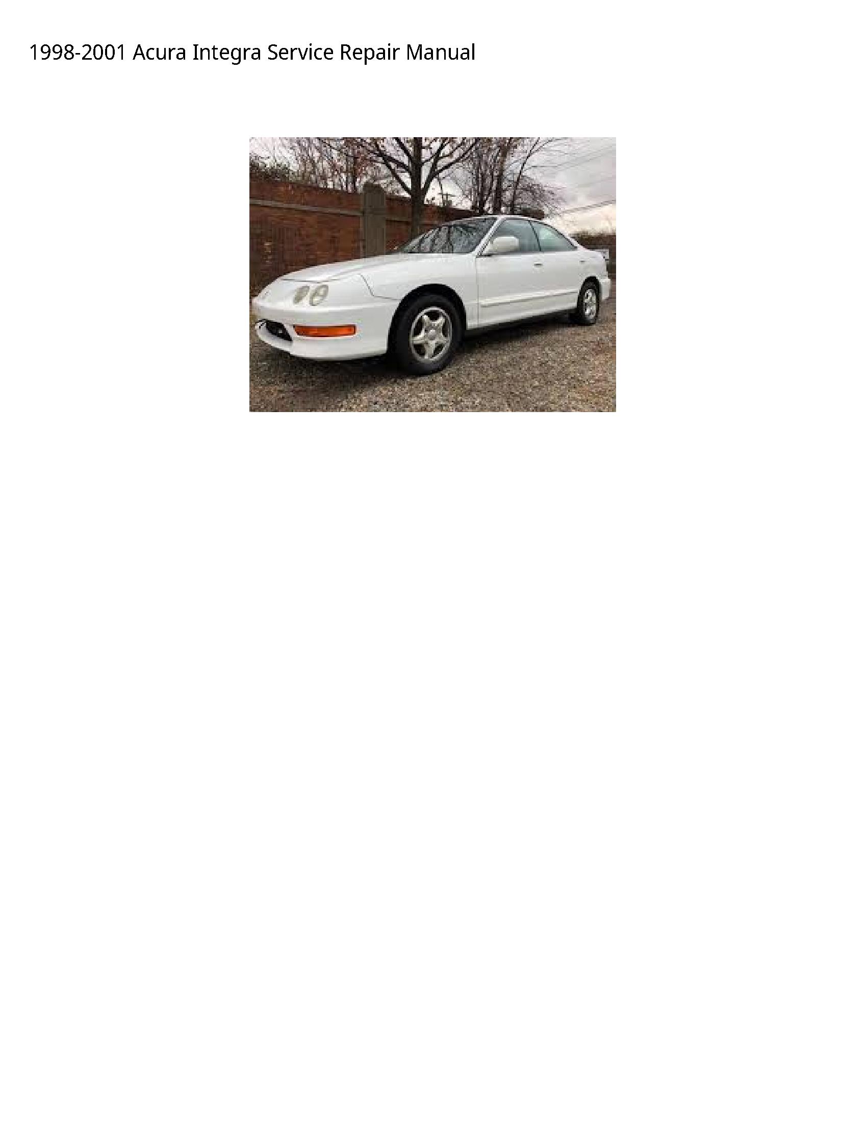 Acura Integra manual