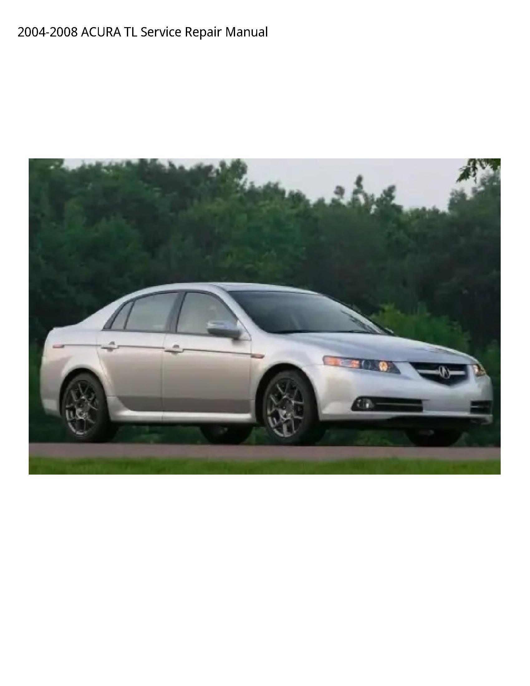 Acura TL manual
