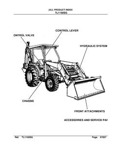 Kubota TL1150SG manual