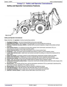 John Deere 1T0310SL**D273920- manual