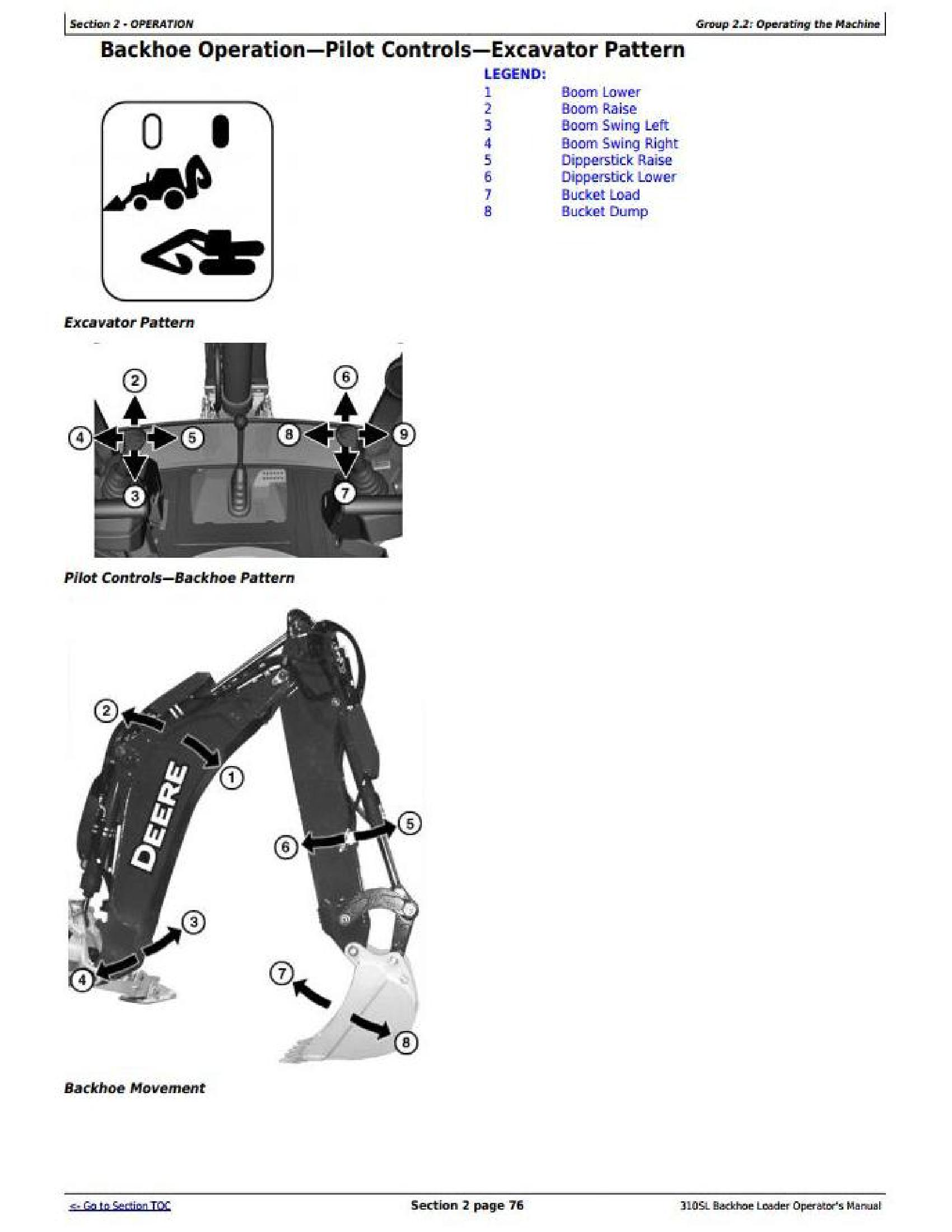 John Deere 1T0310SL**D273920- manual pdf