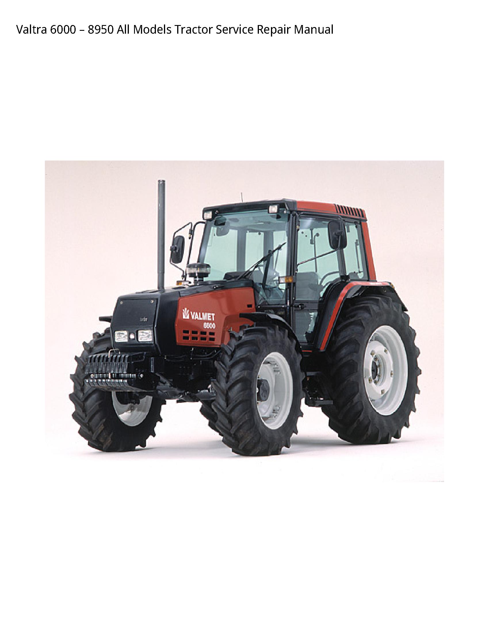 Valtra 6000 All Tractor manual