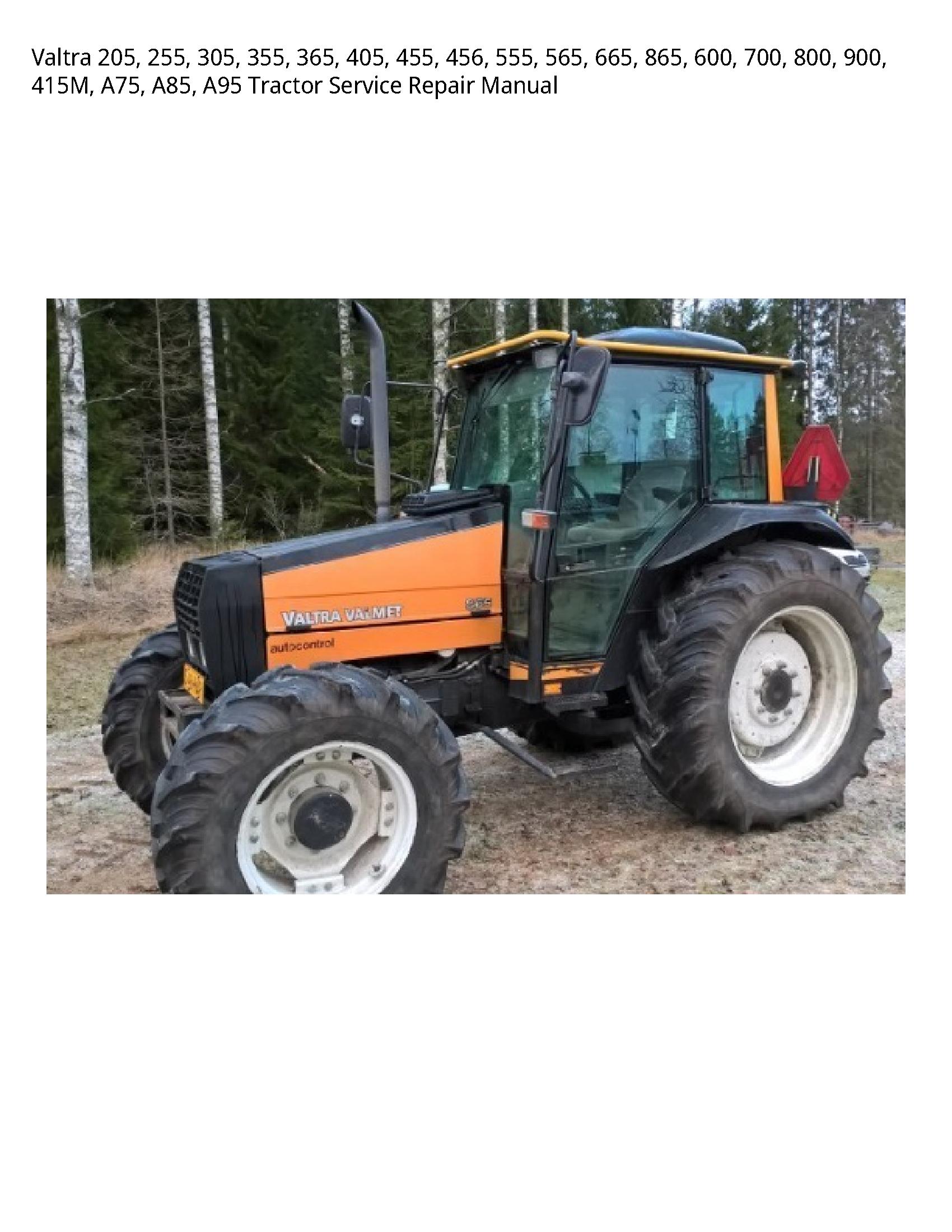 Valtra 205 Tractor manual