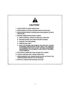 New Holland L-779 Skid-Steer Loader manual pdf