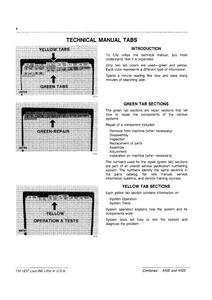John Deere 4420 Combines Technical service manual