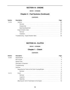 New Holland TC45DA manual pdf