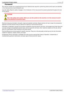 John Deere 648E manual
