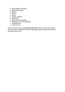John Deere 320E  manual