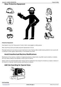 John Deere 450DLC service manual
