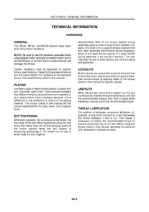 New Holland MC35 Commercial Mower service manual