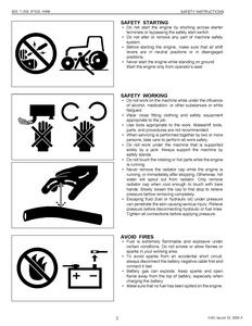 Kubota TL500 WSM Front Backhoe manual