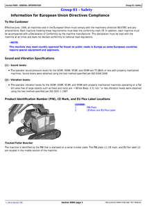 John Deere 909MH manual