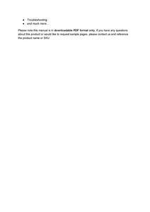 John Deere 4940 Self-Propelled Sprayers service manual