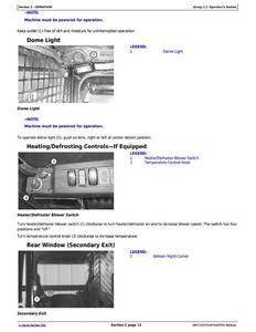 John Deere CT315 manual
