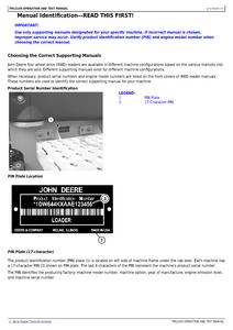 John Deere 644K manual