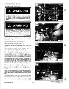Bobcat 753 Skid Steer Loader INCLUDES HIGH FLOW OPTION manual