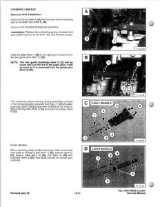 Bobcat 753 Skid Steer Loader INCLUDES HIGH FLOW OPTION service manual