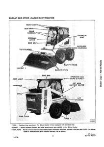 Bobcat 645 Skid-Steer Loader manual