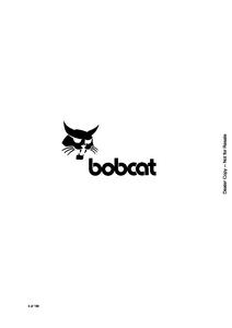 Bobcat 645 Skid-Steer Loader manual pdf