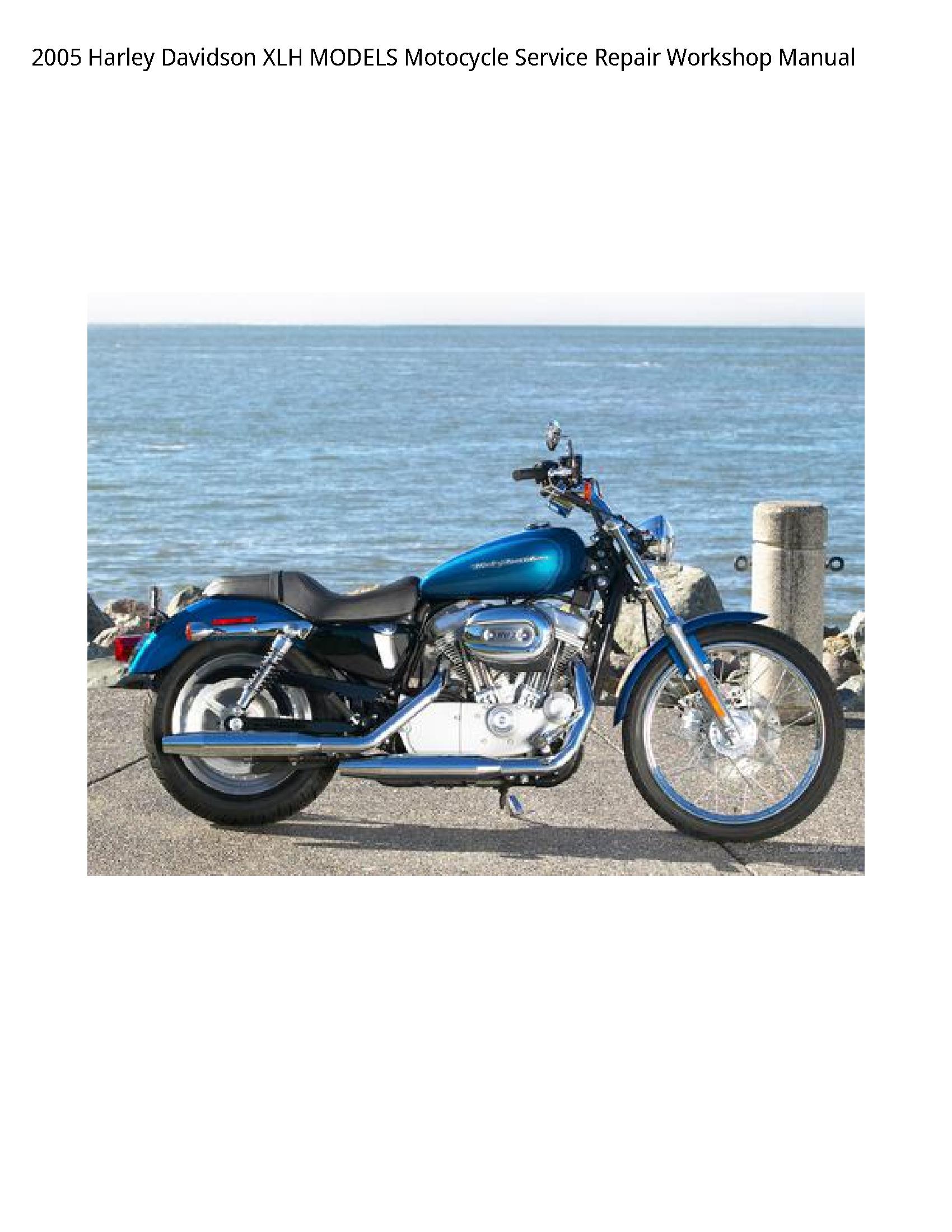 Harley Davidson XLH Motocycle manual