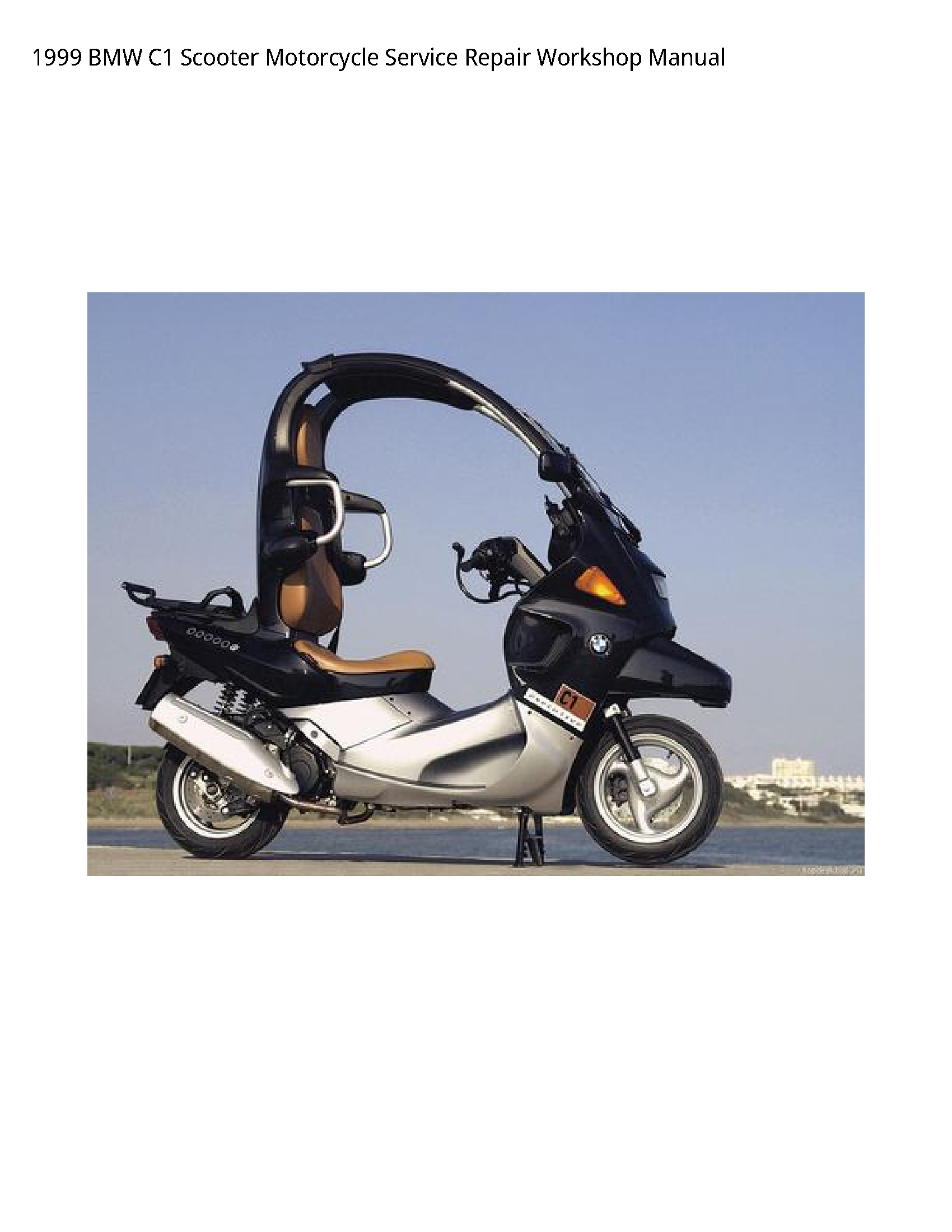 BMW C1 Scooter Motorcycle manual