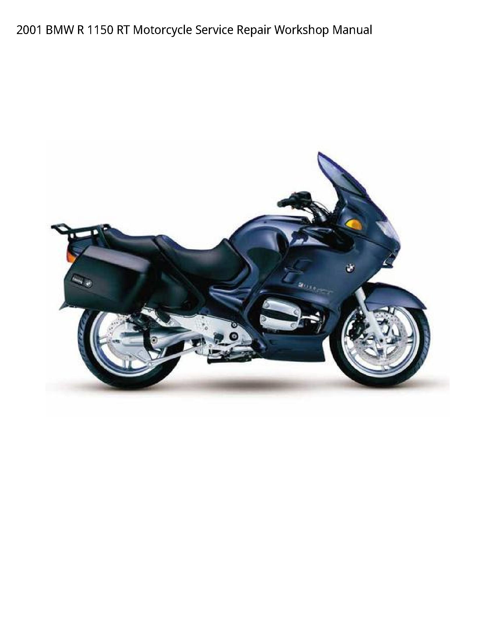 BMW 1150 RT Motorcycle manual