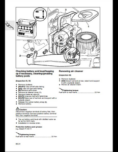 BMW R850/1100GS Motorcycle manual
