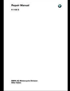 BMW R1100S Motorcycle manual