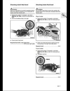 BMW R1100S Motorcycle manual pdf