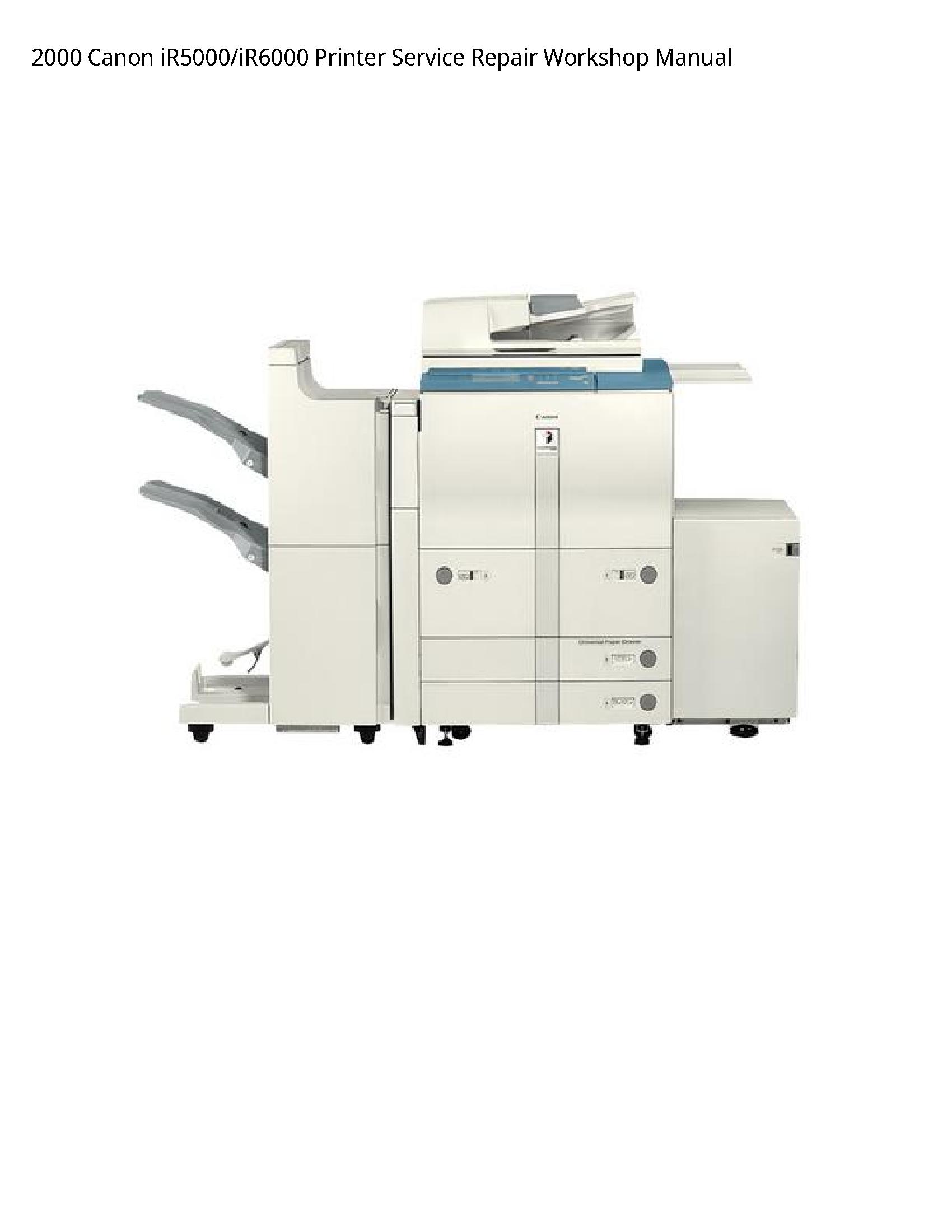 Canon iR5000 Printer manual