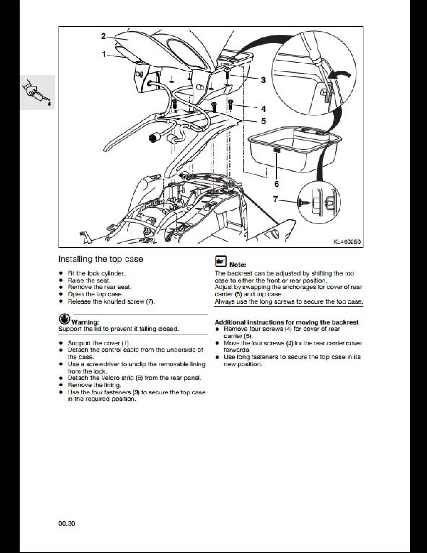 BMW K1200LT Motorcycle manual