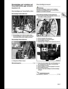 BMW F650GS Motorcycle manual pdf
