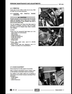 Aprilia RST Mille Futura Motorcycle manual pdf