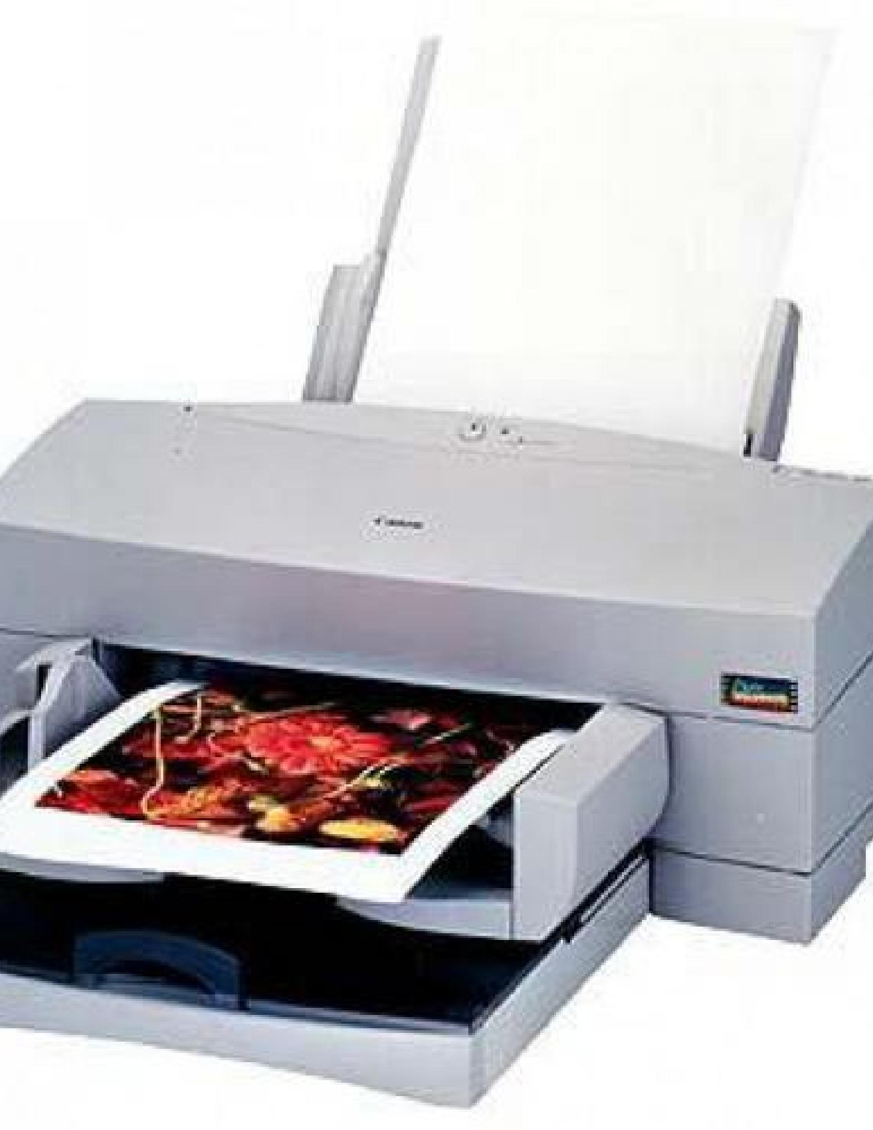 Canon BJC-8500 Printer manual